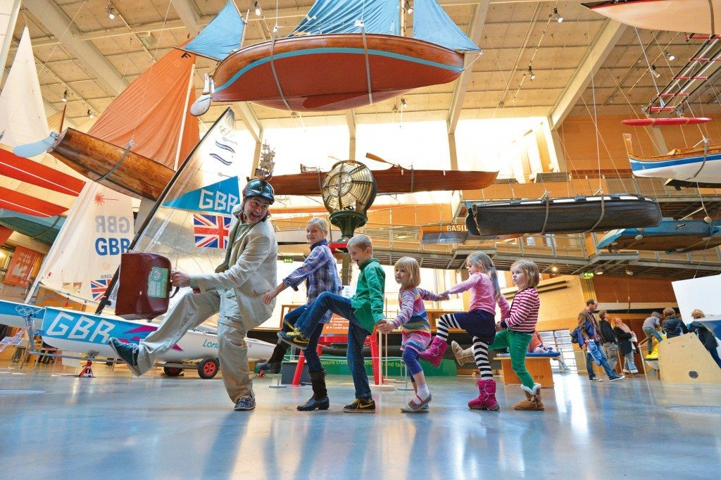 The National Maritime Museum in Falmouth is great for toddler friendly days out in Cornwall. Look out for their fun half term and holiday activities for kids. www.carbisbayholidays.co.uk