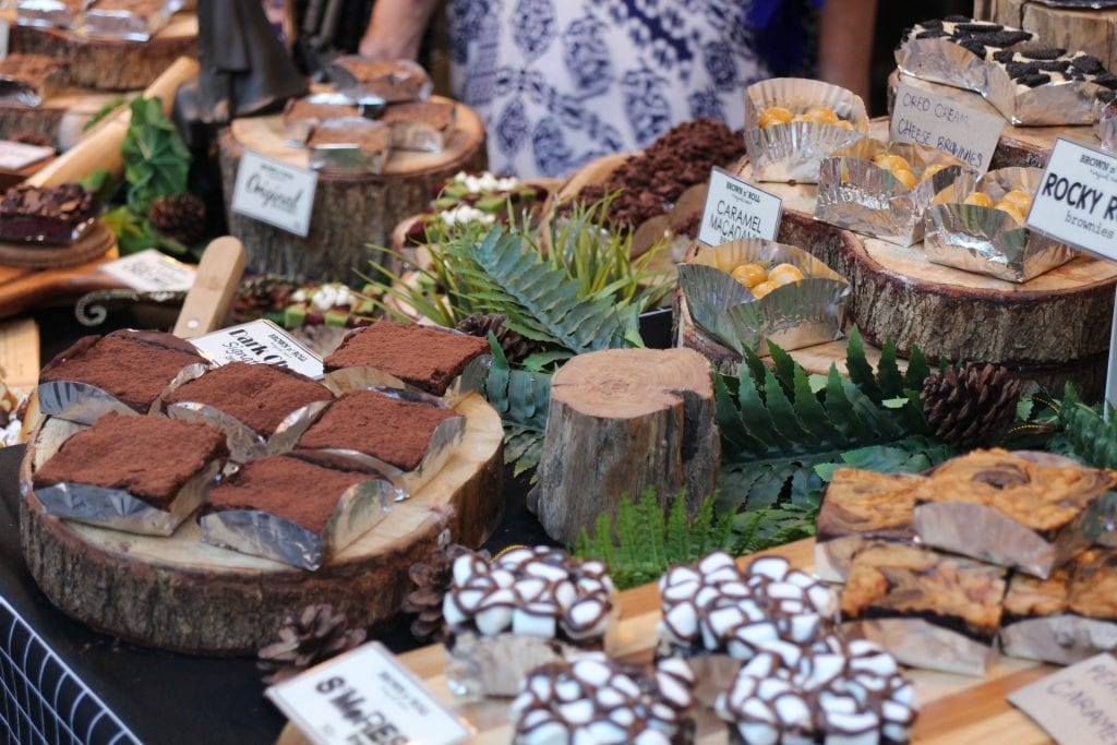 Cakes on a Christmas Market School