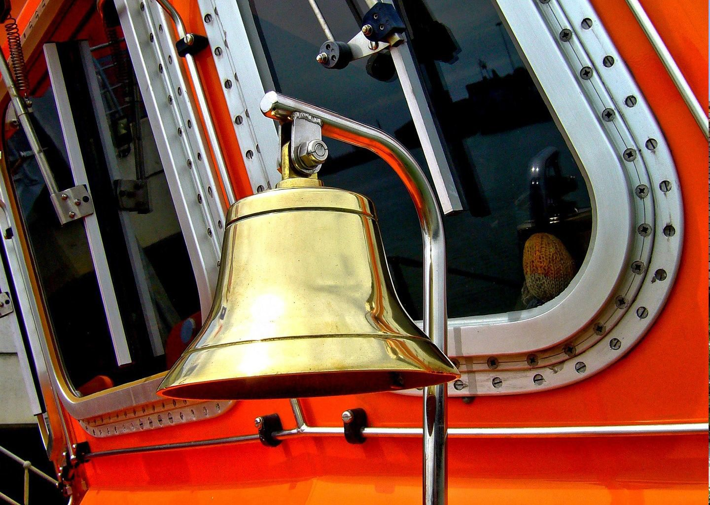 RNLI St Ives Lifeboat alarm bell