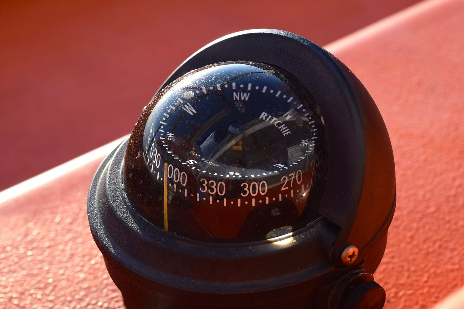 RNLI St IVes Lifeboat Compass