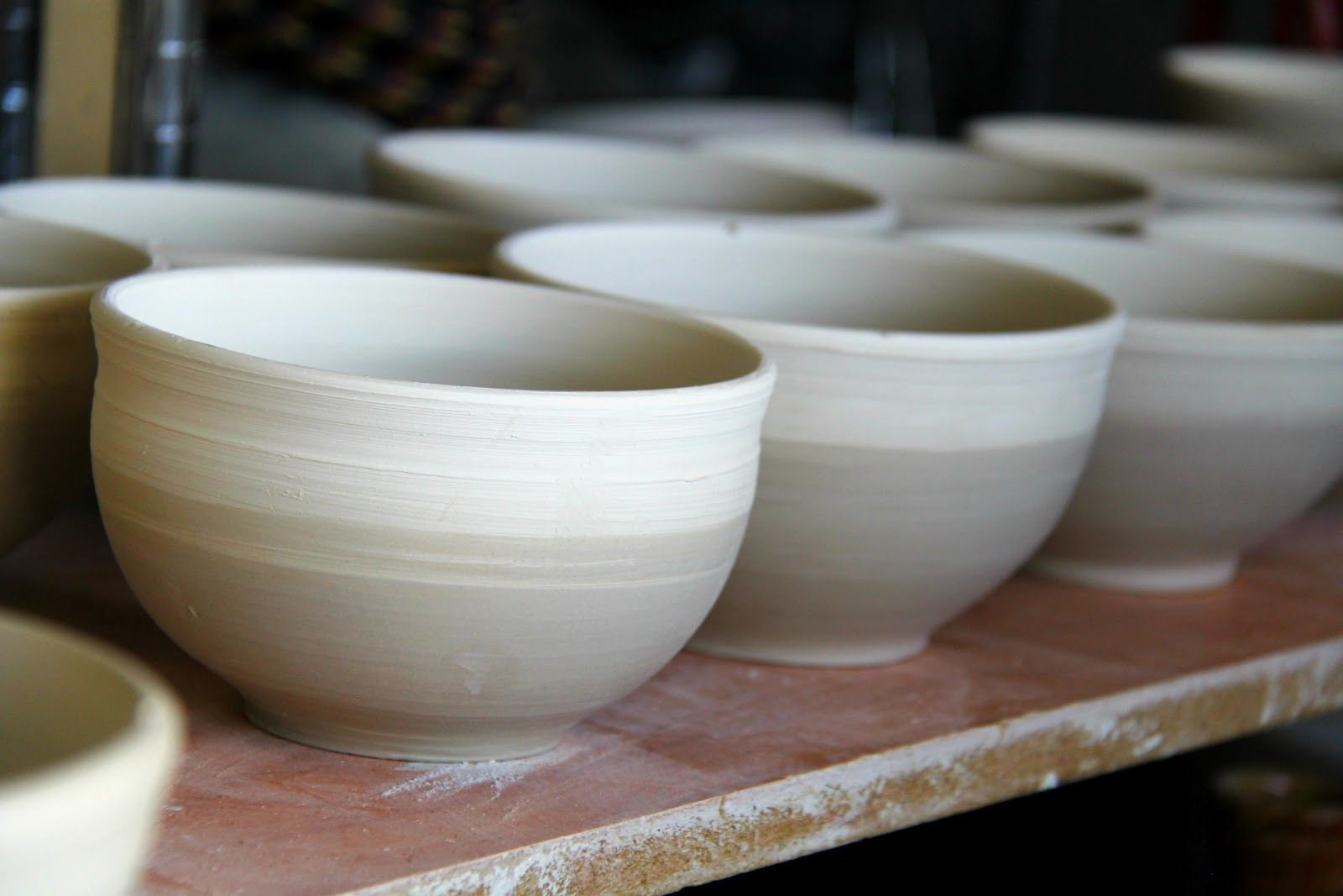 Japanese pots made in St Ives
