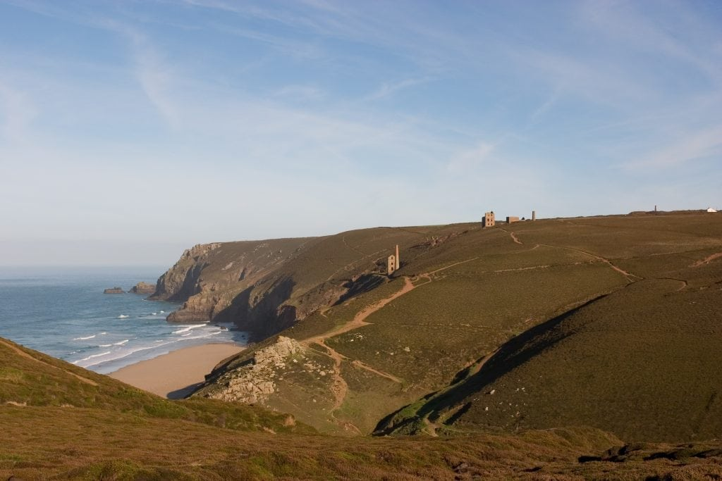 Chapel Porth, Poldark Beach Locations