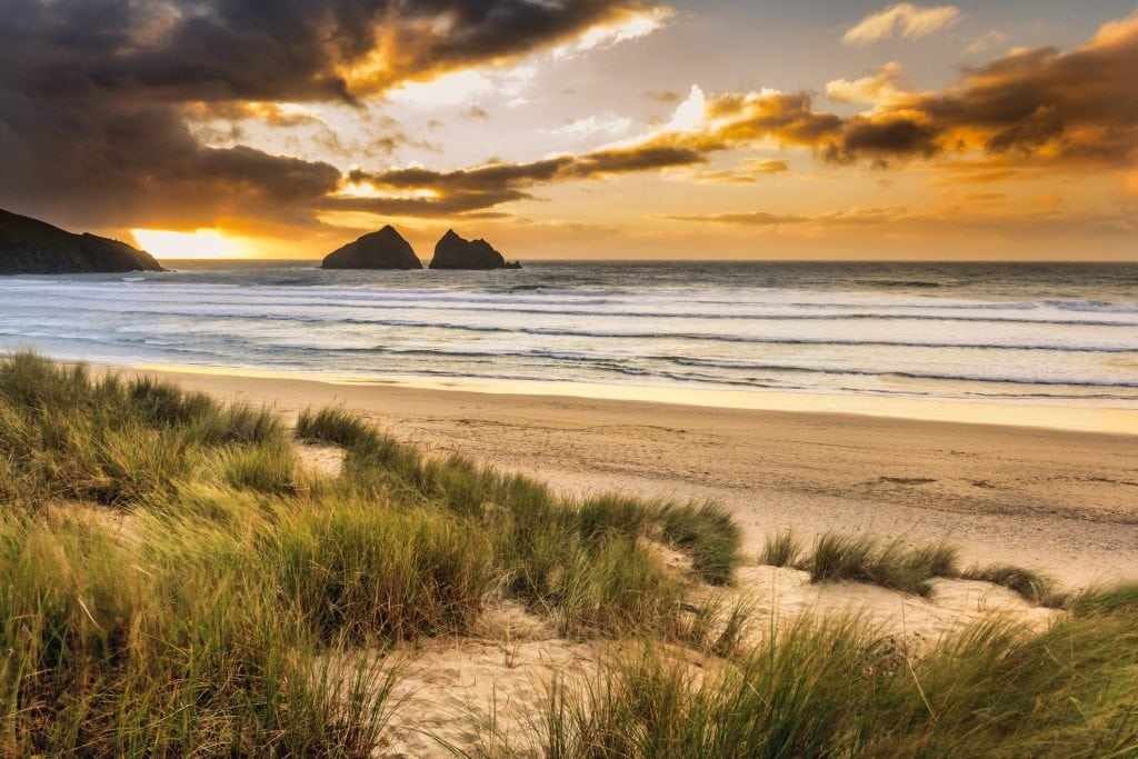Holywell Bay, Poldark Beach Locations