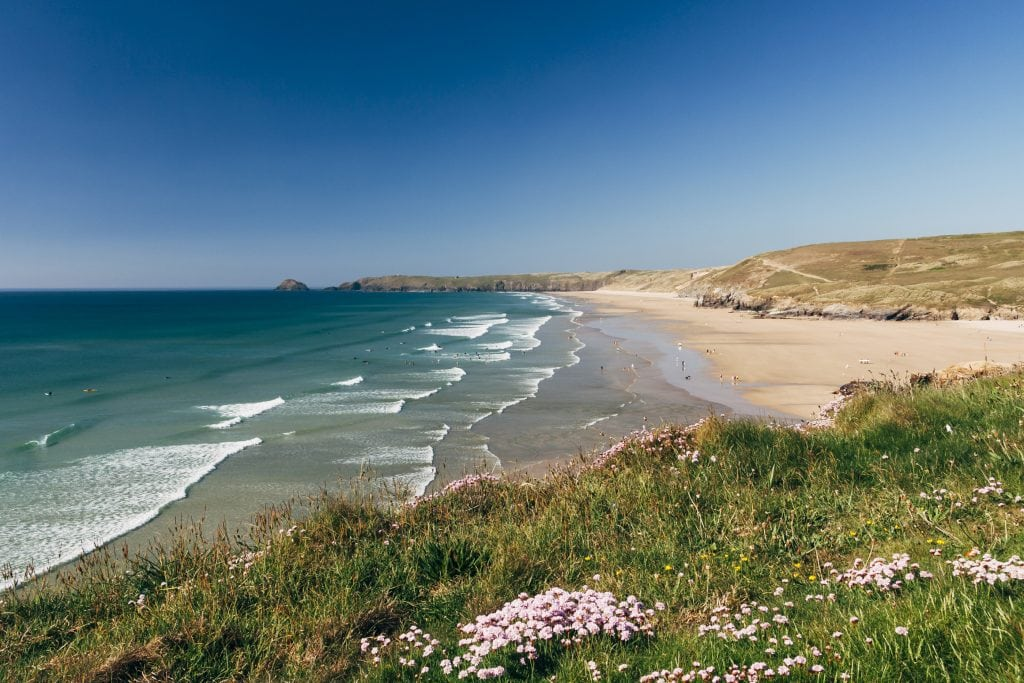 Perranporth, Poldark Beach Locations