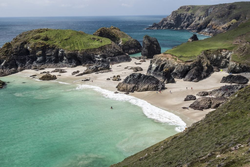 Poldark Beach Locations, Kynance Cove