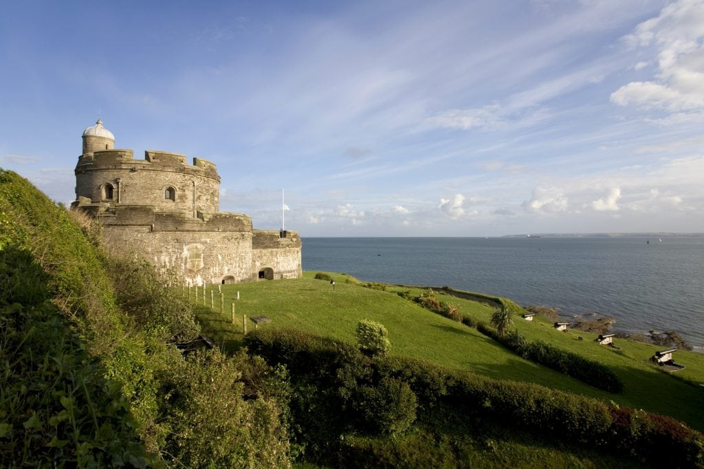 Castles in Cornwall, St Mawes