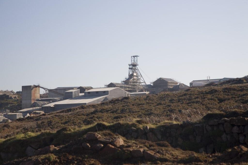 Rainy Days Cornwall, Geevor Tin Mine