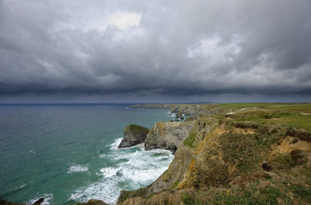 Rainy Day Cornwall, Scenery