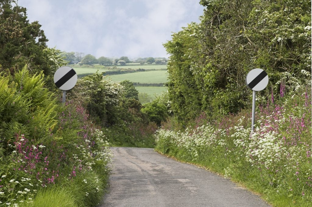 Car Hire in Cornwall, Country Lanes