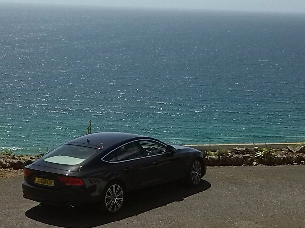 Car Hire in Cornwall, Sea View