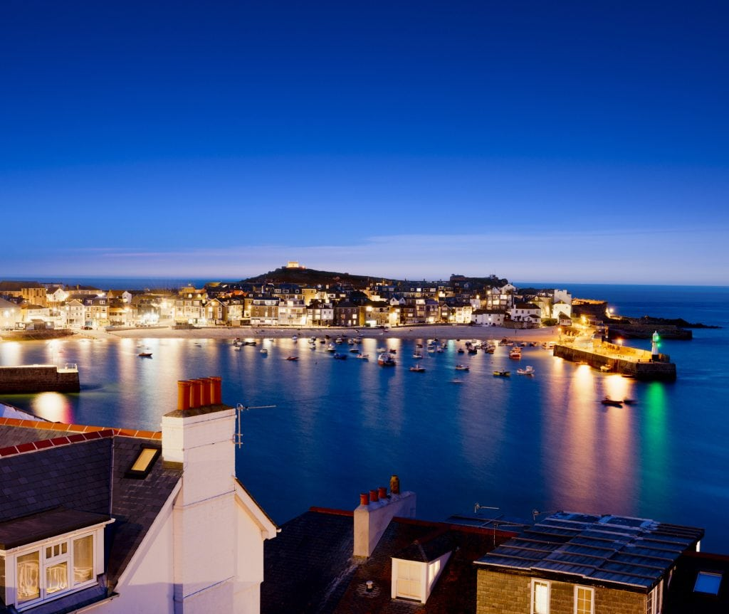 Dog Friendly Pubs St Ives, Evening View