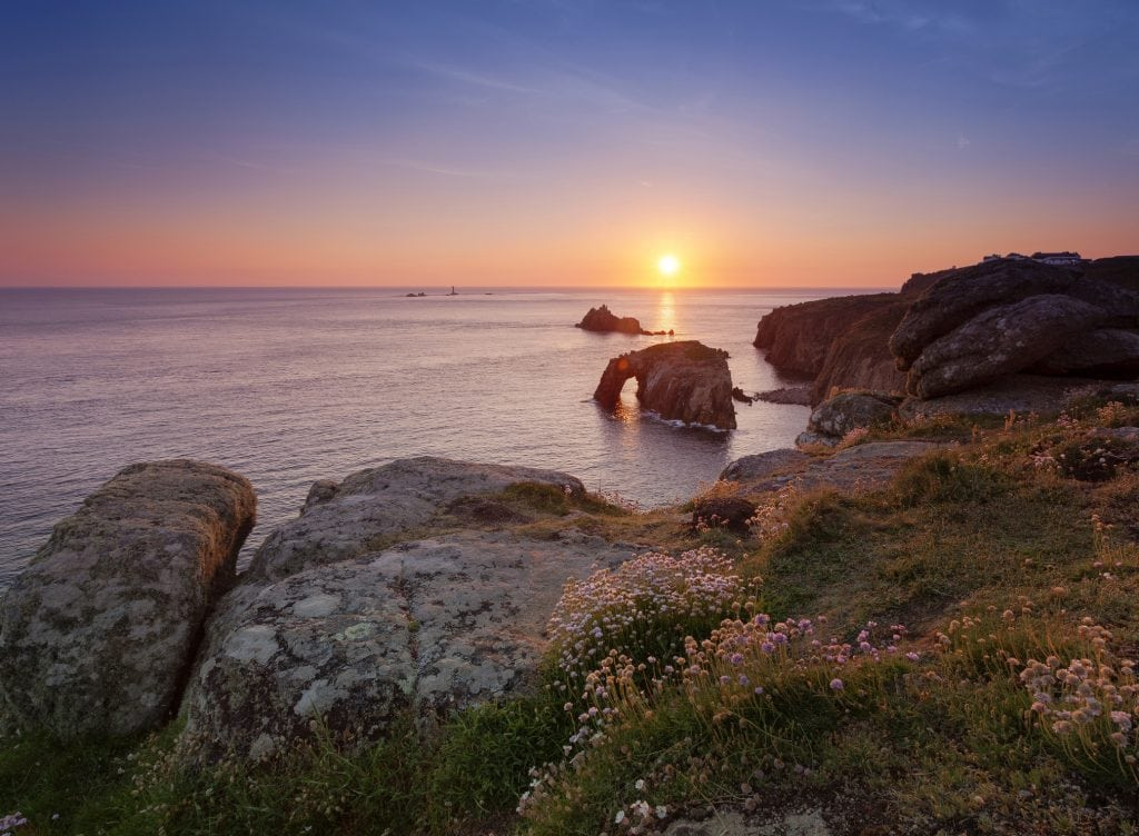Sunset Spots in Cornwall, Lands End