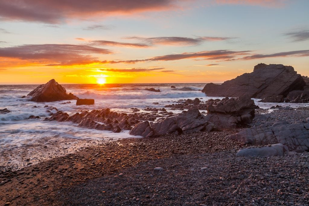 Sunset Spots in Cornwall, Bude