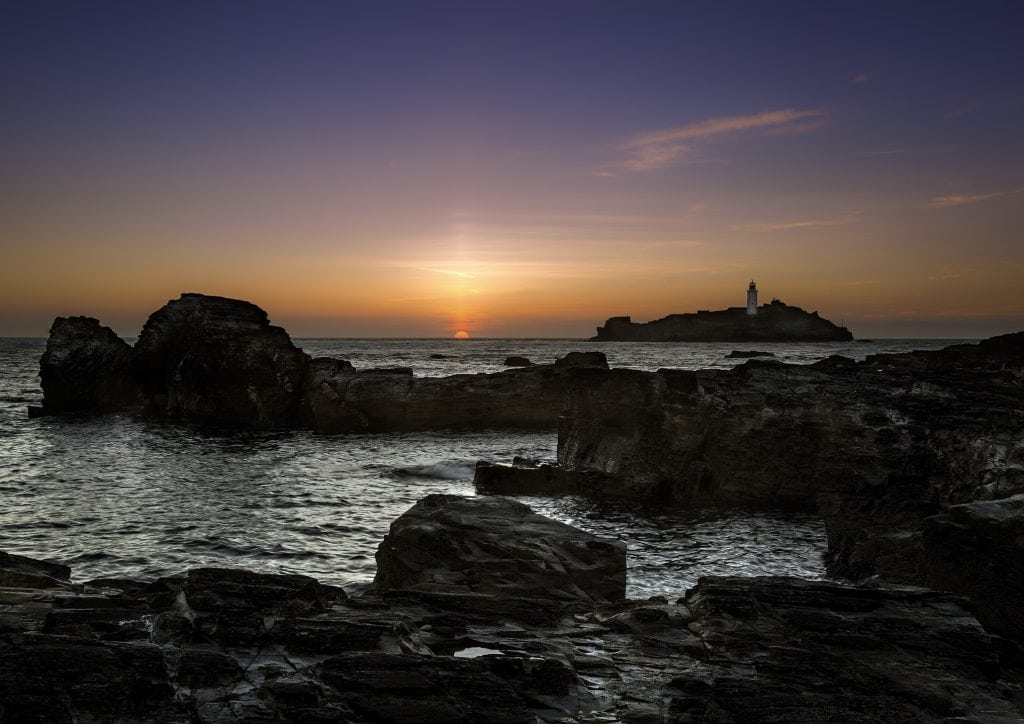 Sunset Spots in Cornwall, Godrevy