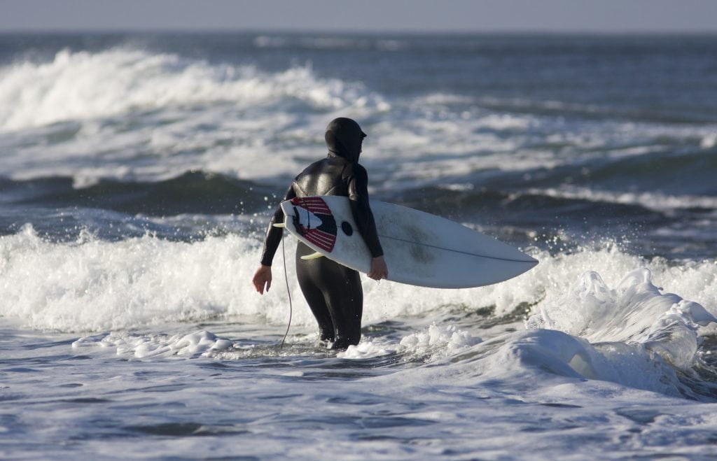 Cornwall in Winter, Cold Water Surfing