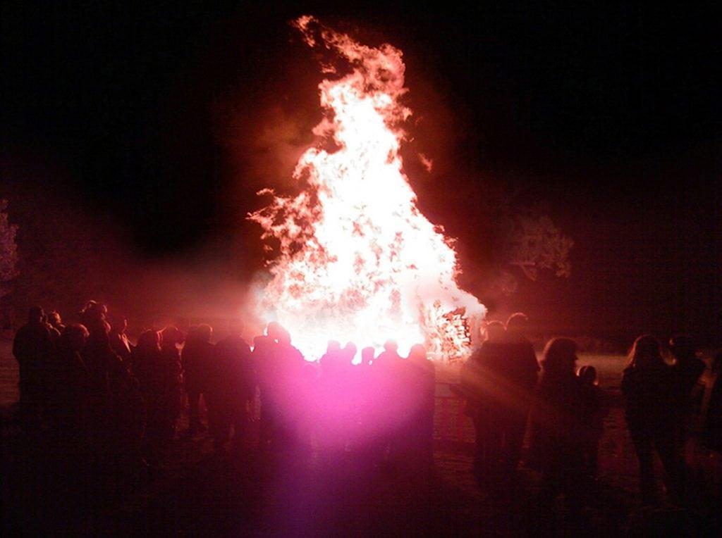 Firework Displays, Cornwall, Bonfire
