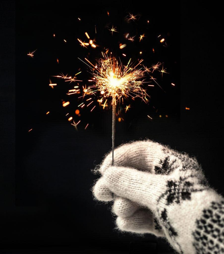 Firework Displays in Cornwall, Sparklers