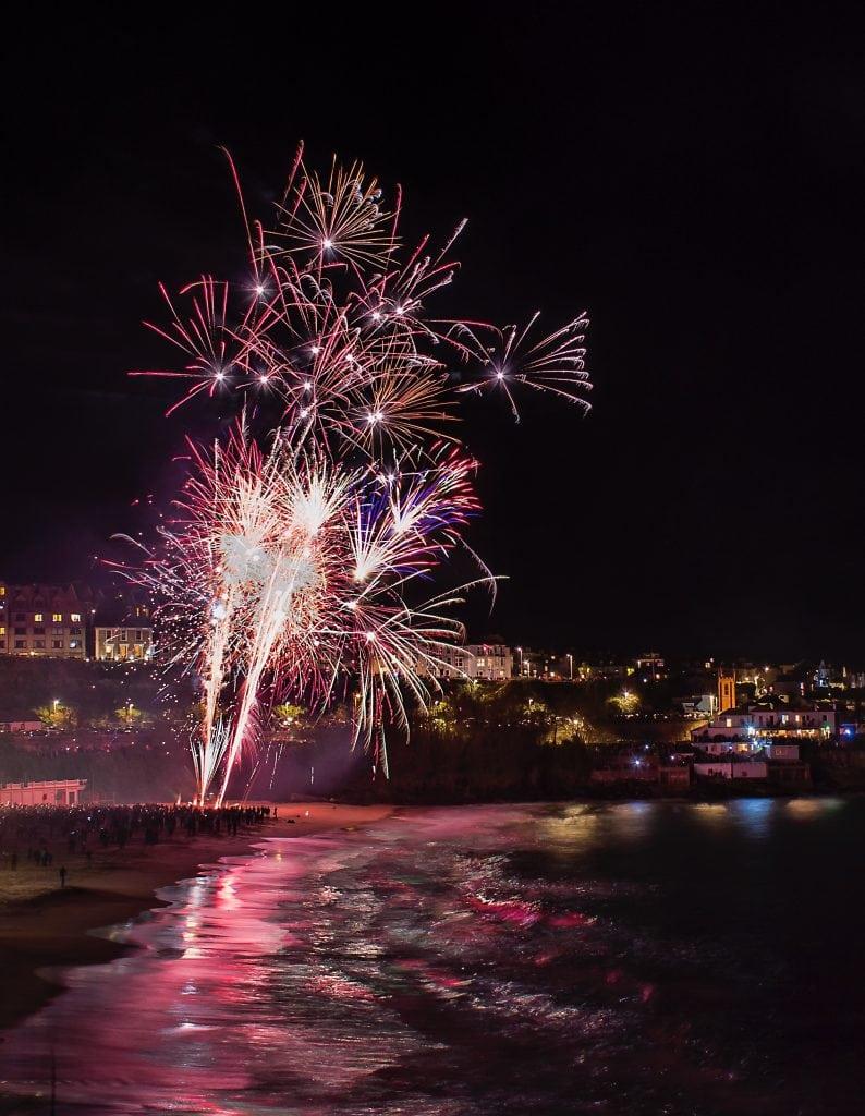 Firework Displays in Cornwall, St Ives