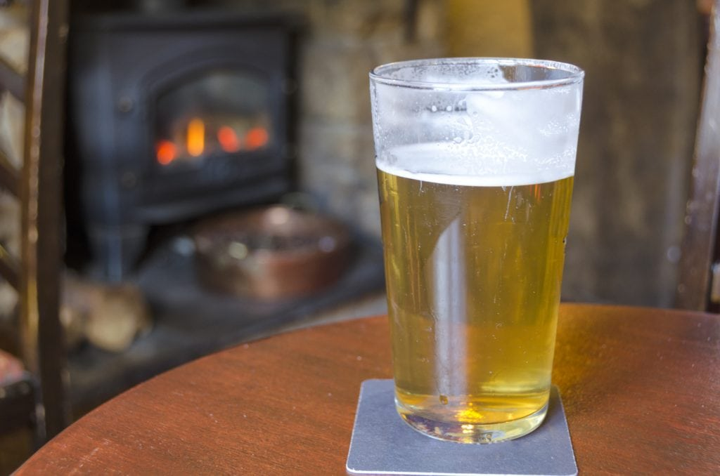 Pubs and Inns in Cornwall, Cosy Pint