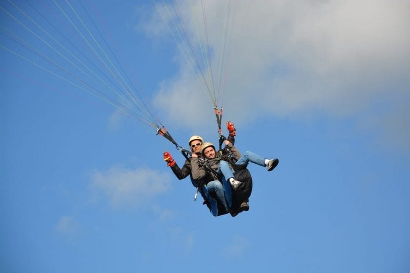 Outdoor Activities in Cornwall, Paragliding