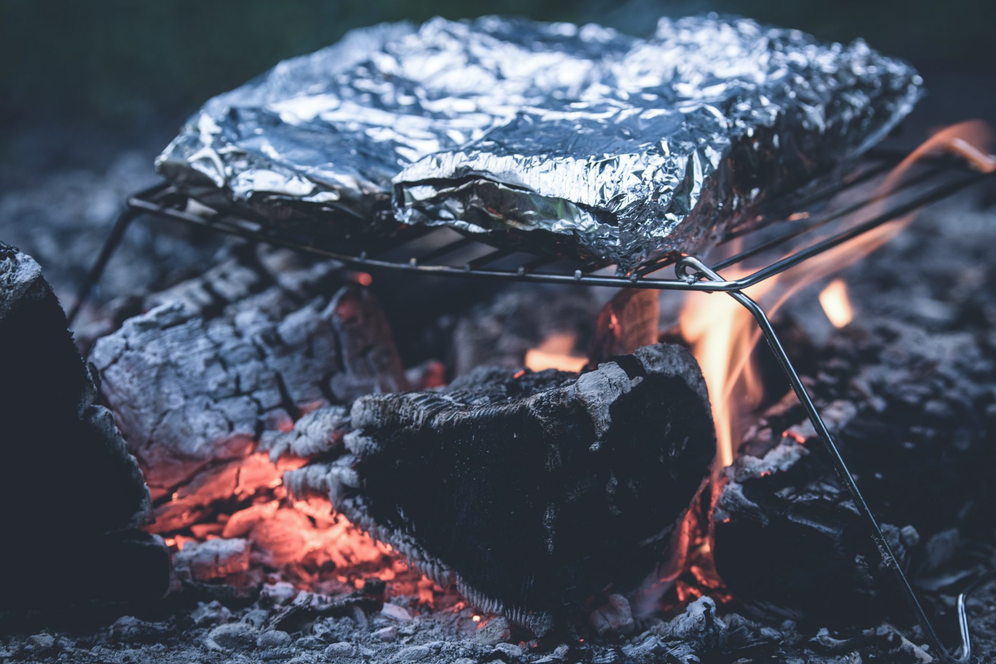 Romantic Things to do in Cornwall, Beach Fire Cooking