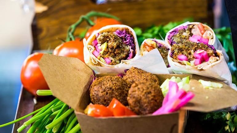 CBH St Ives takeaway - falafel buddha bowl