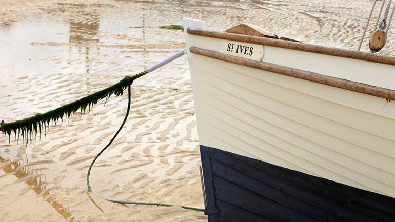 Coronavirus safe attractions Cornwall - St Ives boat