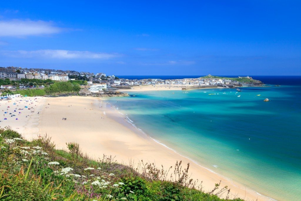 Porthminster Beach and Harbour from Porthminster Point
