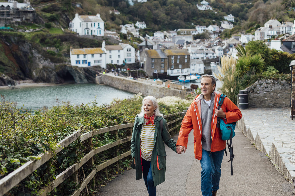 Coastal Walk in Cornwall